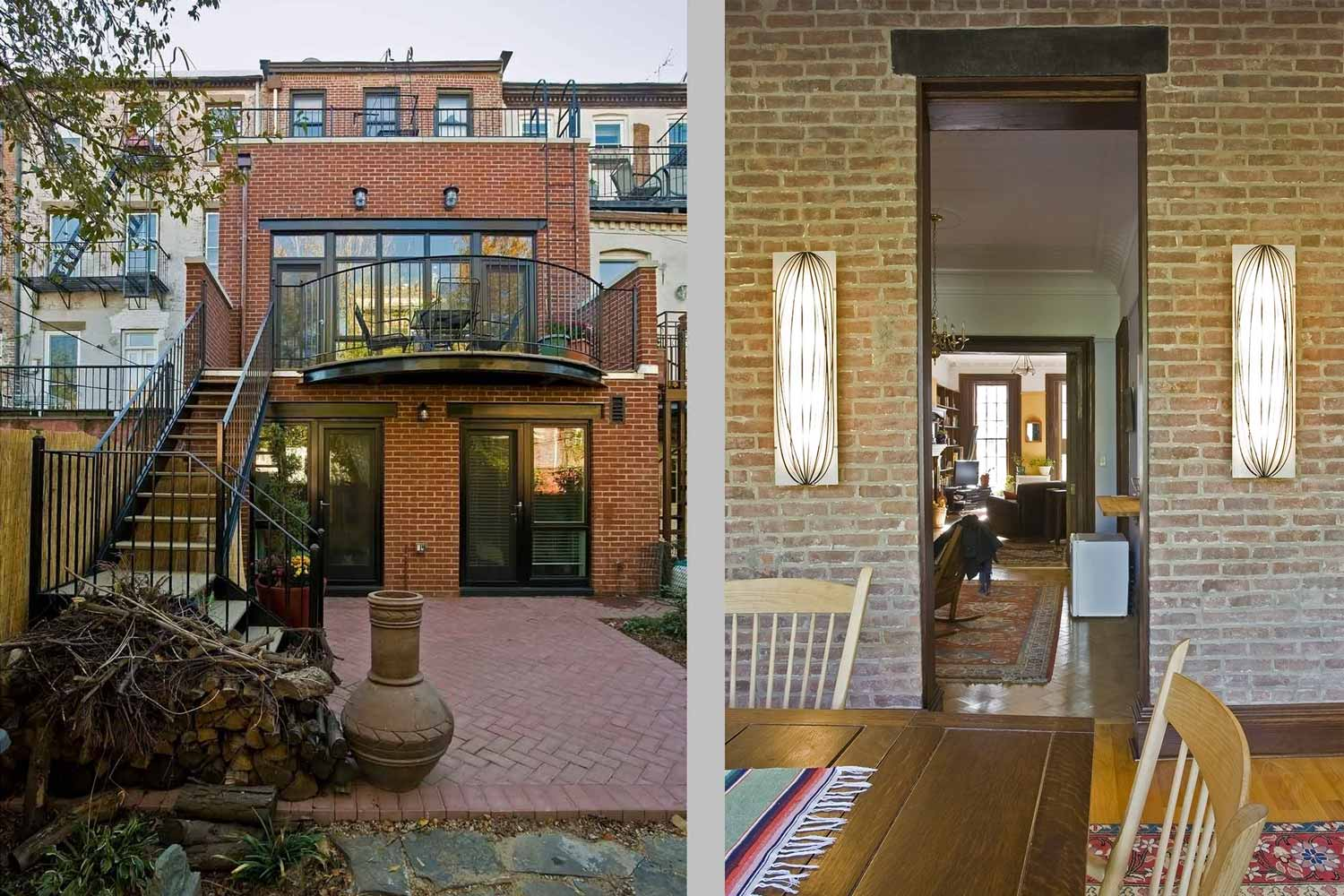 Renovation and extension of an early 20th Century brownstone on Degraw Street in Brooklyn.