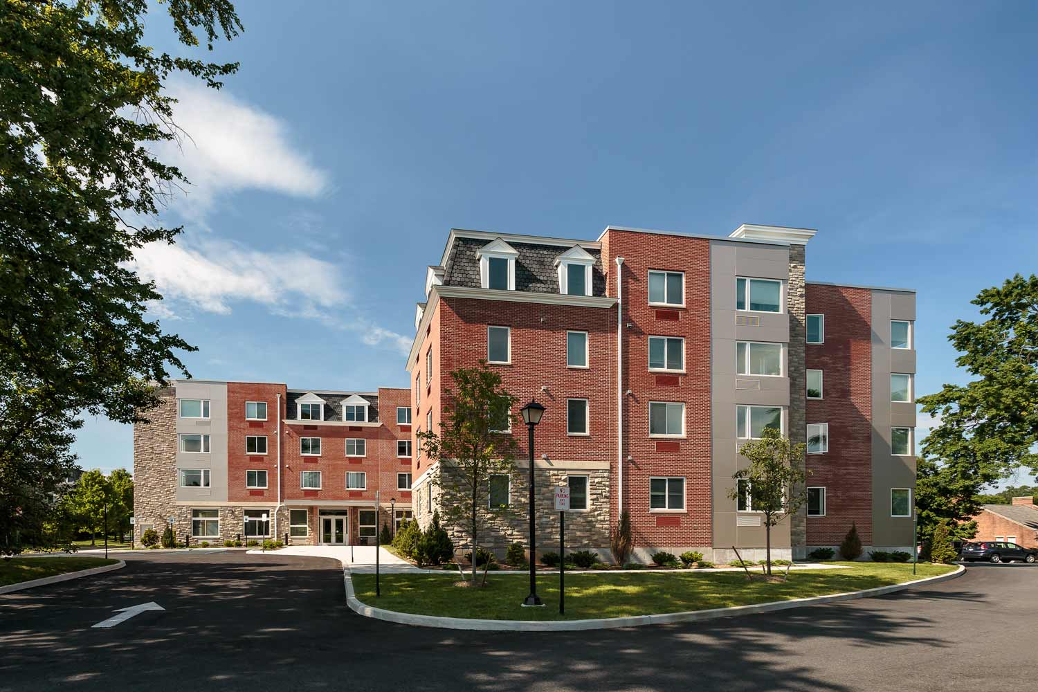 The Friedrichs are LEED, affordable senior apartments added to the Wartburg Adult Care Community