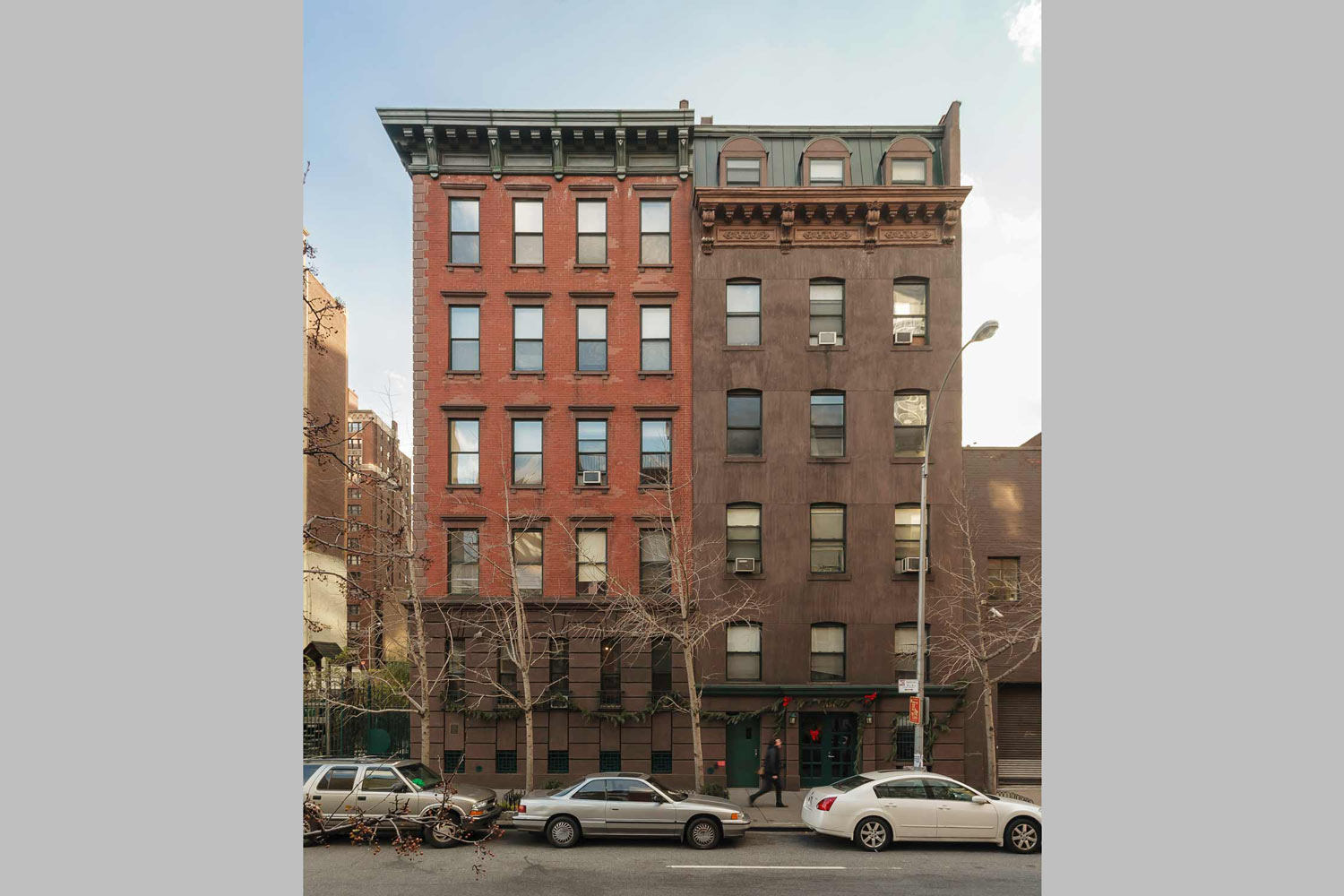 Nero Wolfe is a supportive housing rehabilitation and expansion project on West 35th Street by OCV Architects.