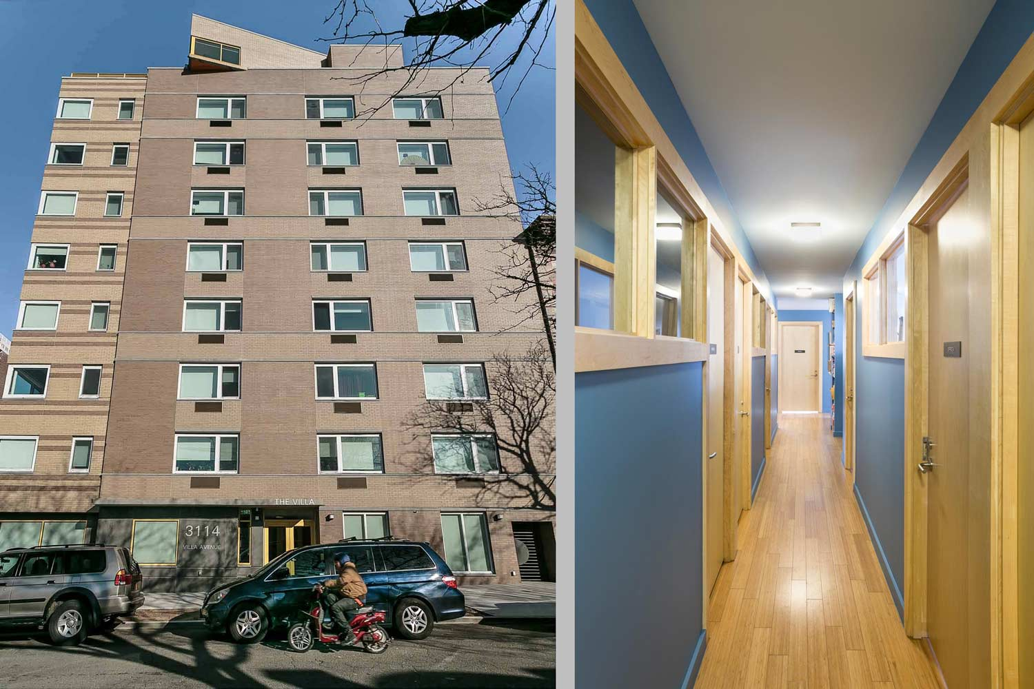 The Villa supportive housing residence offers on site counselling and assistance for residents.