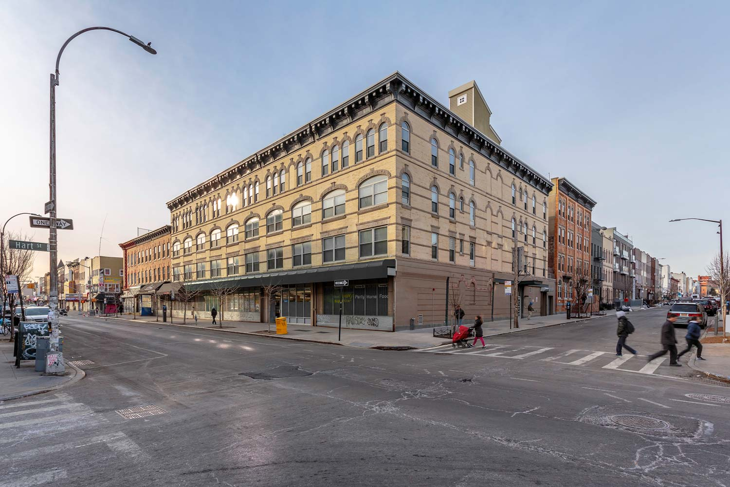 The Knick LEED Homes certified rehabilitation transformed seven boarded up walkups into a condo complex.