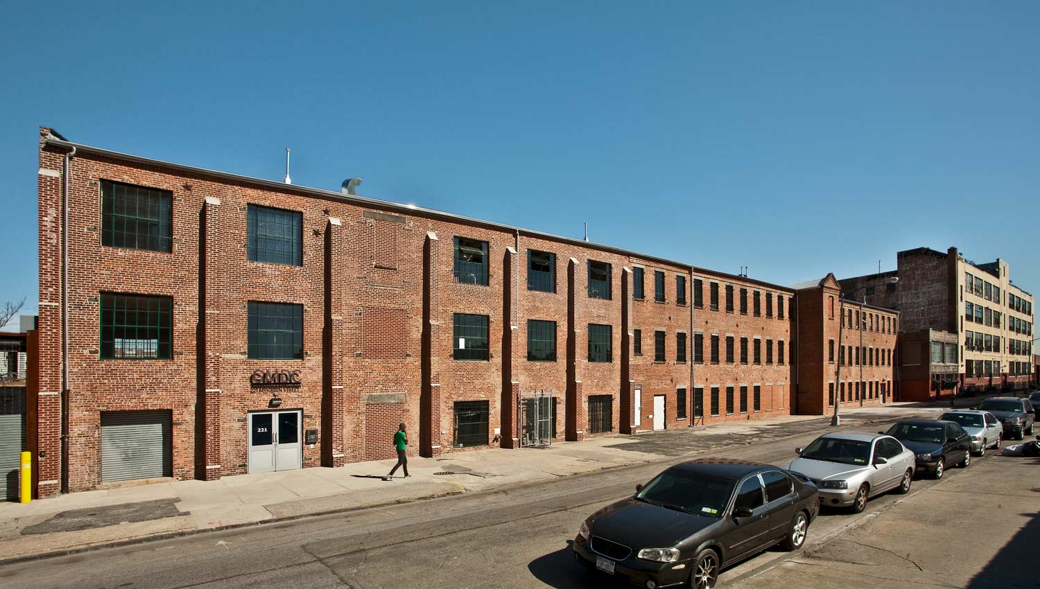 Gut renovation and structural retrofit of nine historic light manufacturing buildings in Brooklyn.