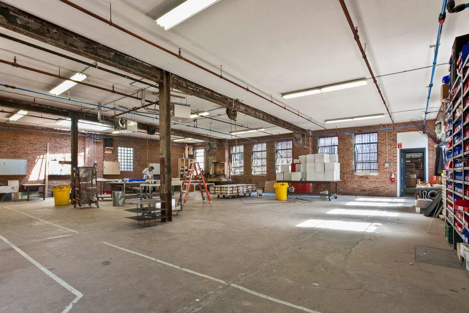 OCV Architects intervened minimally into this rare historic NYC light manufacturing building.