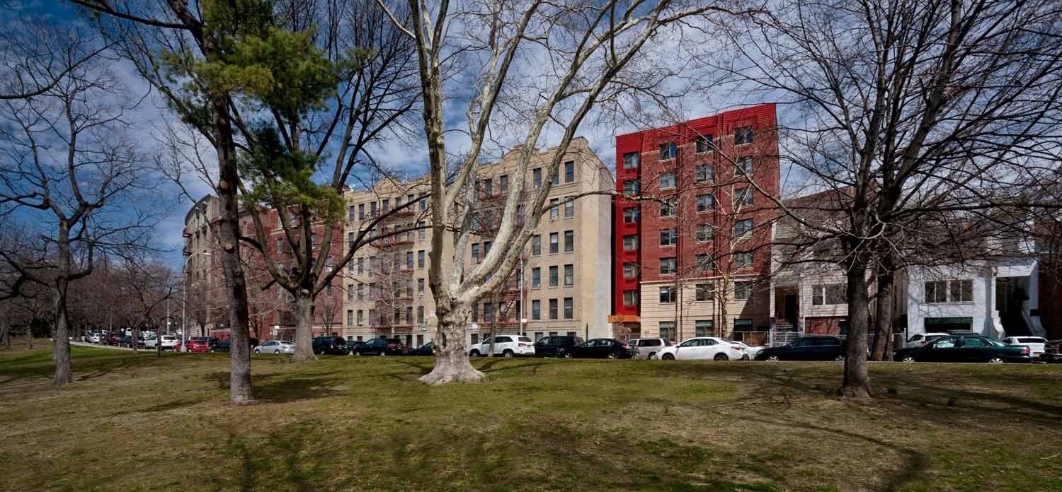 Mosholu Gardens is a 64-unit LEED Silver supportive housing new construction in the Bronx.