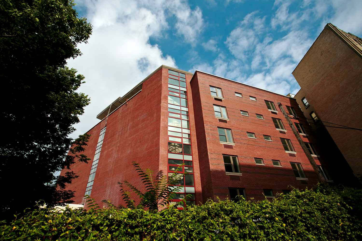 Mosholu Gardens project is 64 units of LEED Silver supportive housing by OCV Architects.