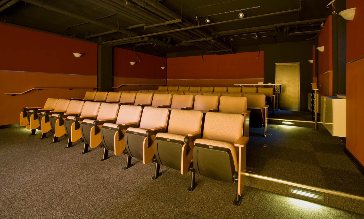 Tenant amenities at Serviam Gardens include a 75-seat theater.