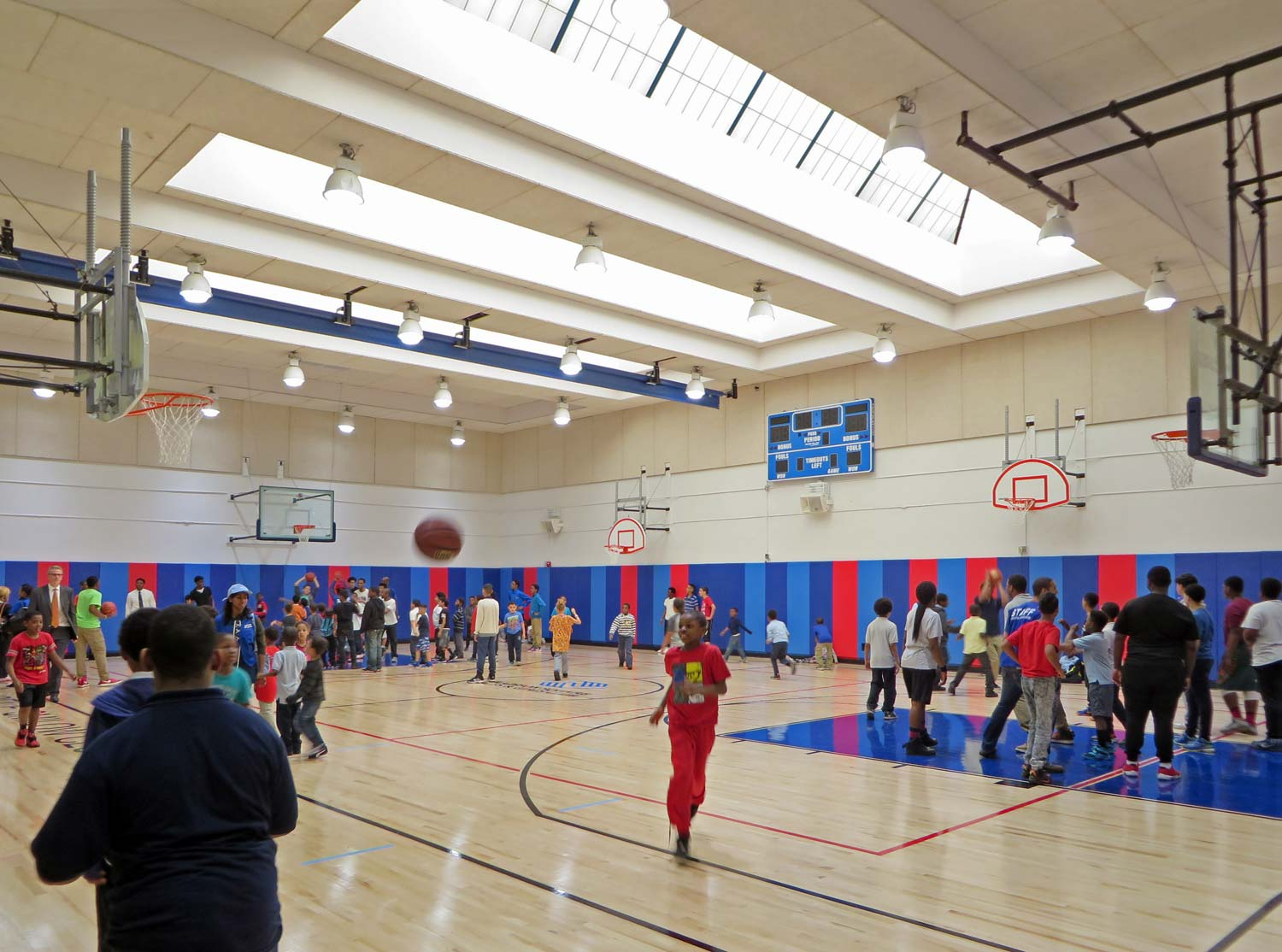 Opening day at Smilow Clubhouse Boys & Girls Club