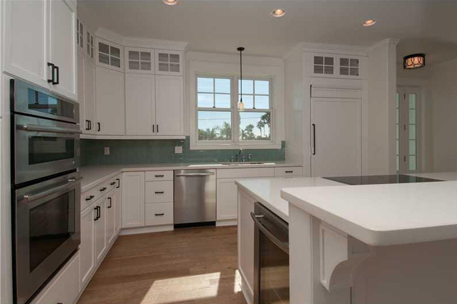 Kitchen at the St. Petes Beach residence by OCV Architects.