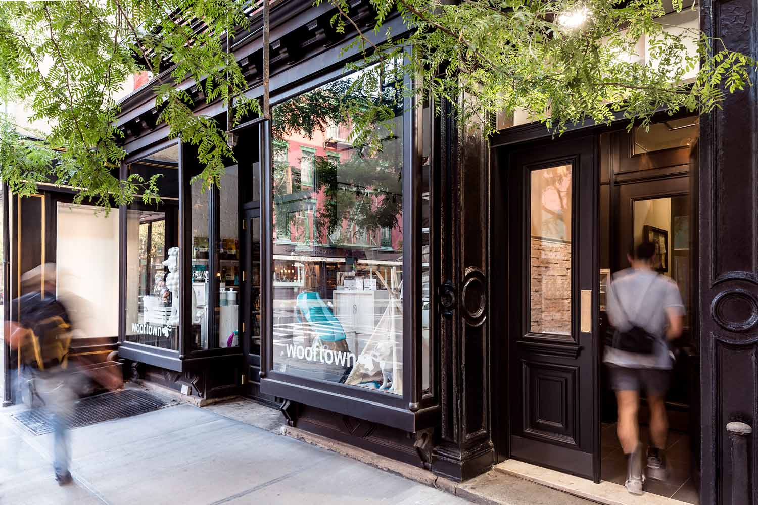 Reconfiguration and historic renovation of storefront on Christopher Street by OCV Architects.