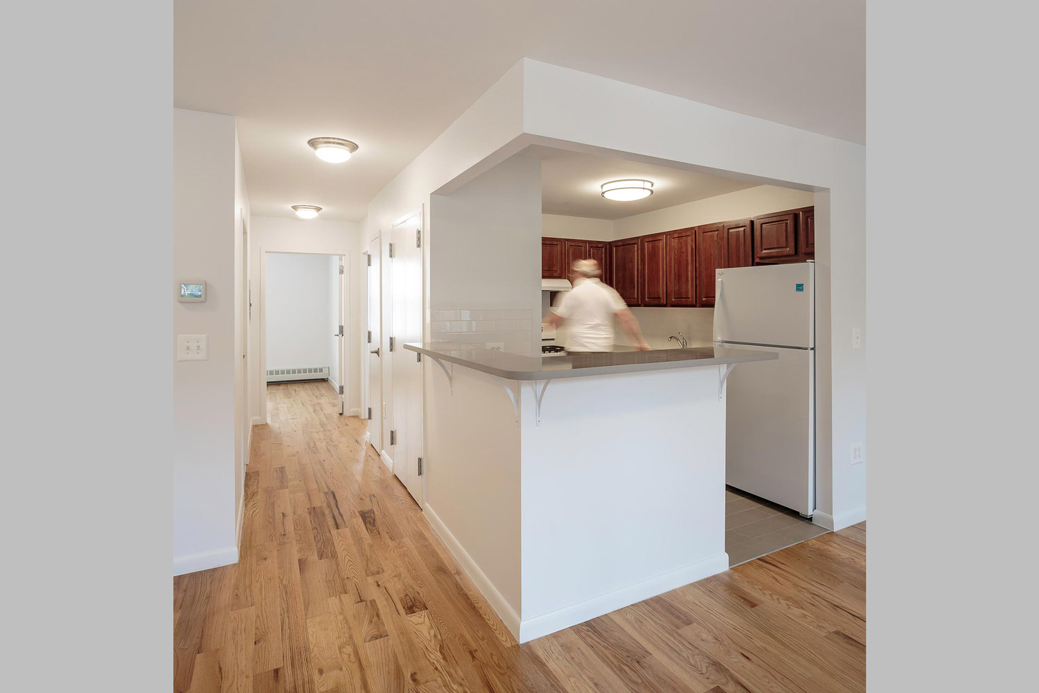 Sustainable features at these green, affordable condos include energy efficient lighting, fixtures and appliances.