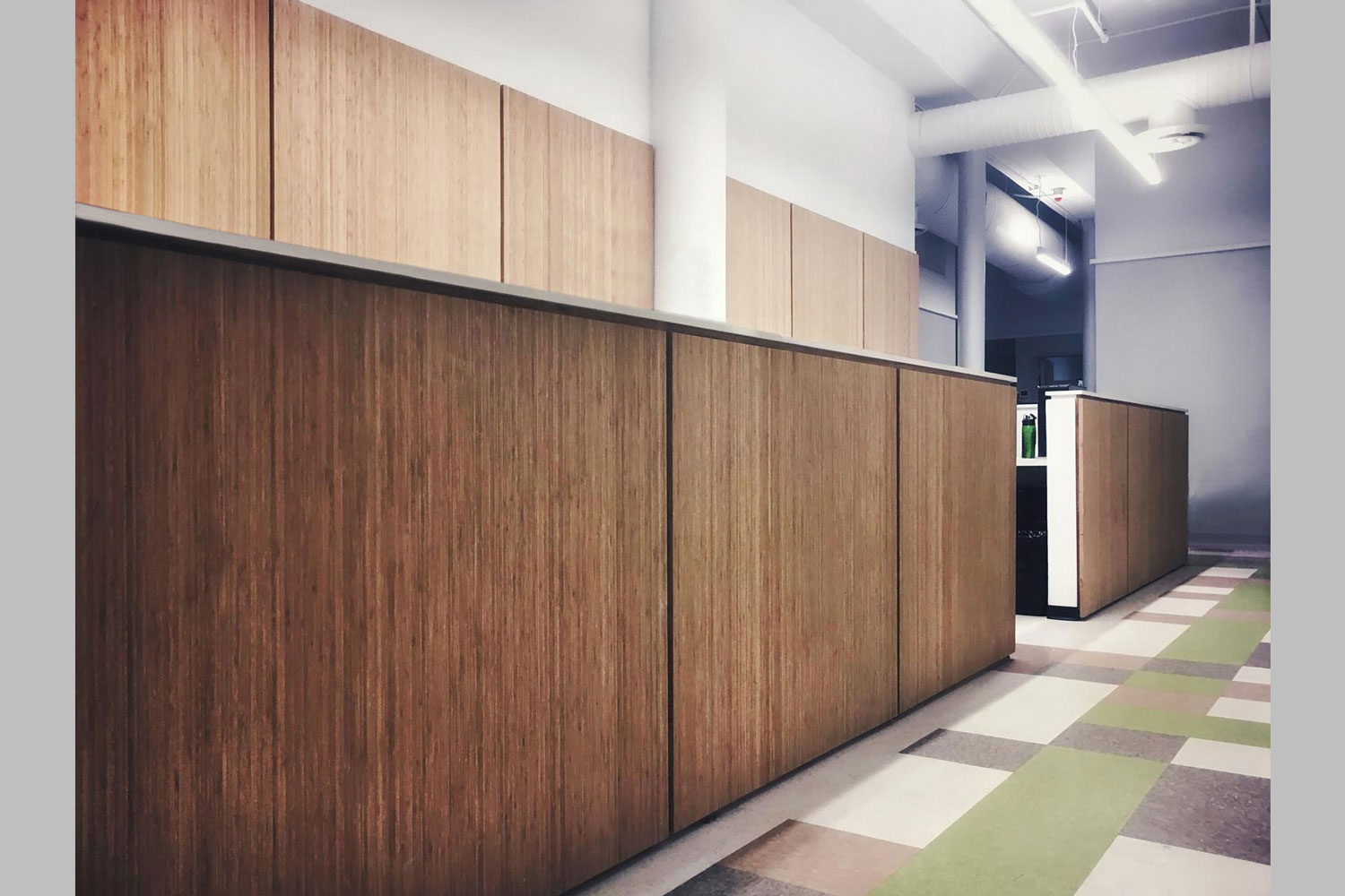 Corporate headquarters build-out for Community Counseling & Mediation. Project and photo by OCV Architects.