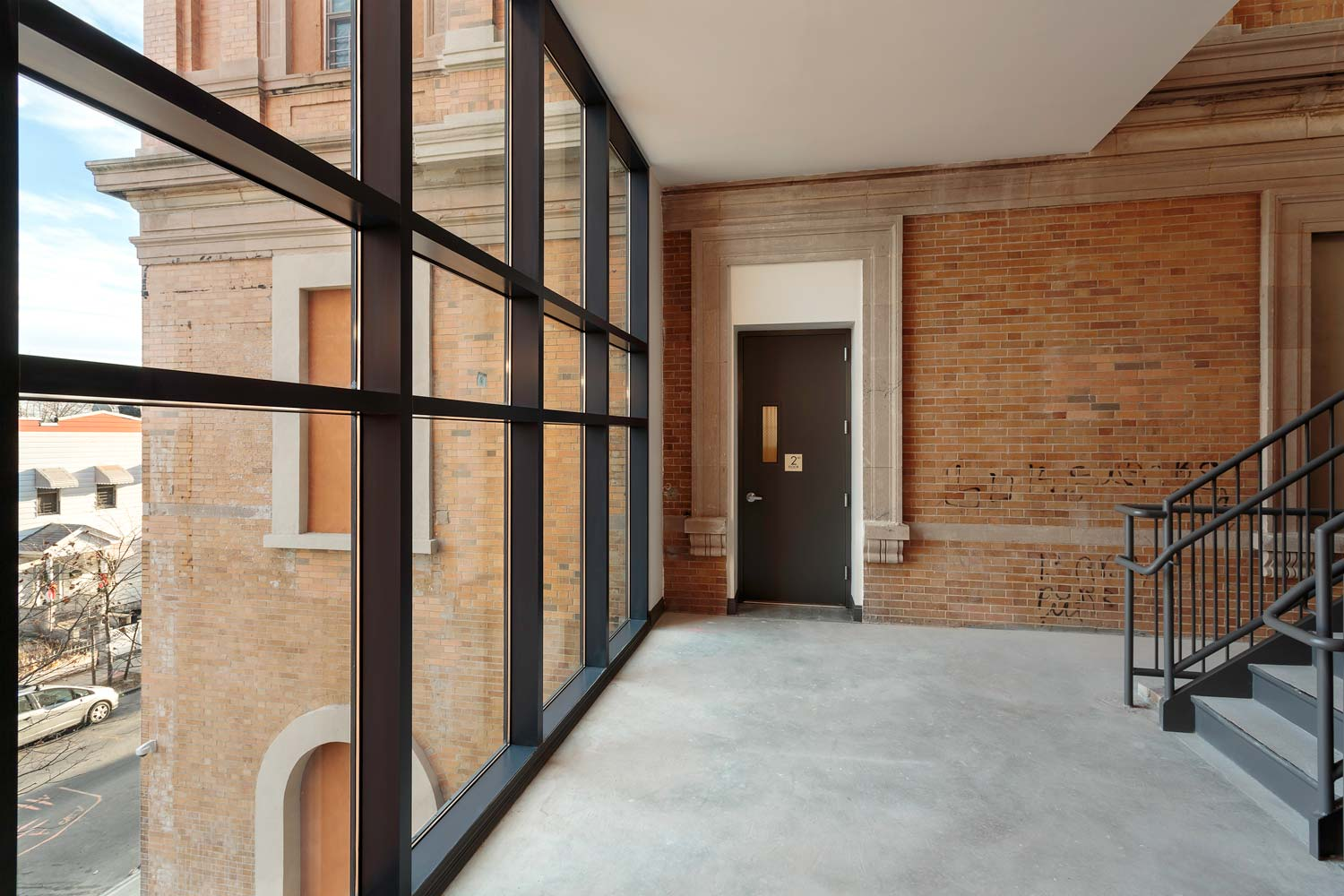 Our Lady of Lourdes Apartments combines rehabilitation, adaptive reuse, and new construction.
