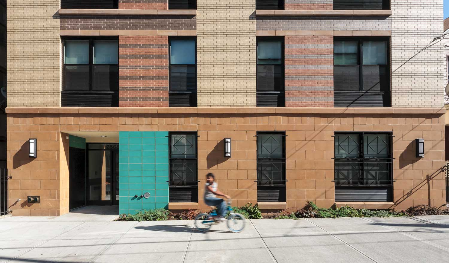 Decatur Green is green new construction that brings built-in sustainability to affordable housing in the Bronx.