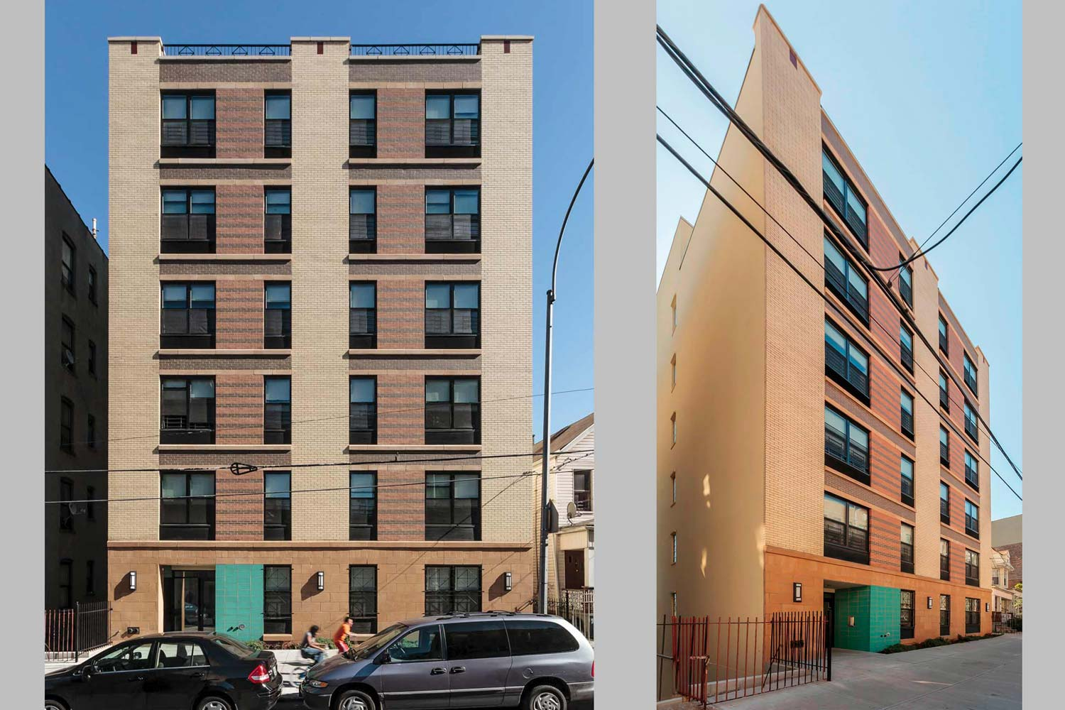 Decatur Green is a sustainable project in the Bronx designed by OCV for Fordham Bedford Housing Corporation.