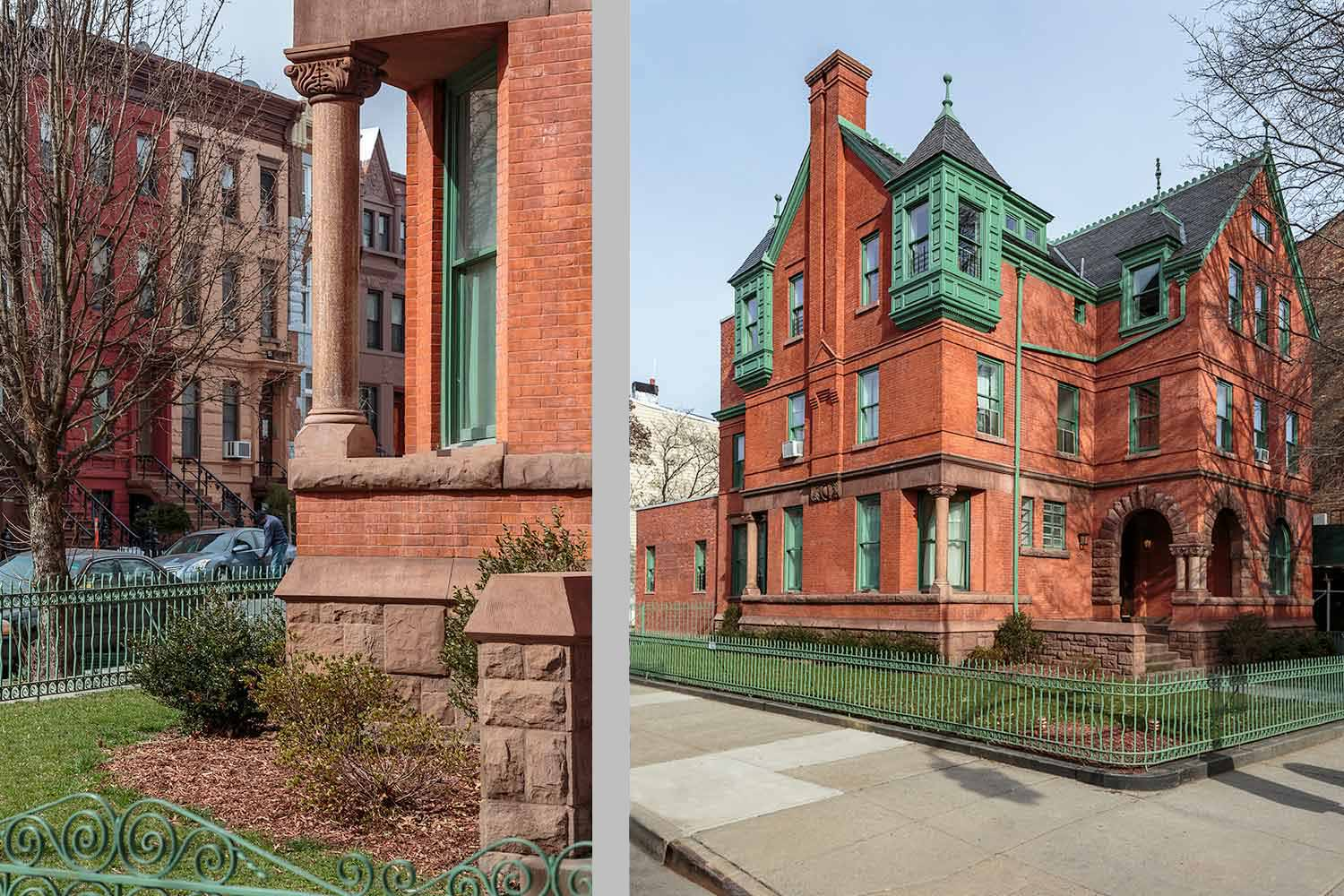 Rehabilitation and Landmarks Preservation Commission approved historic restoration on Brooklyn Avenue by OCV Architects.