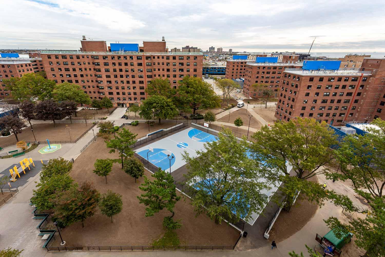 Ocean Bay-Bayside Apartments in Far Rockaway received a $150 million tenant-in-occupancy rehabilitation.