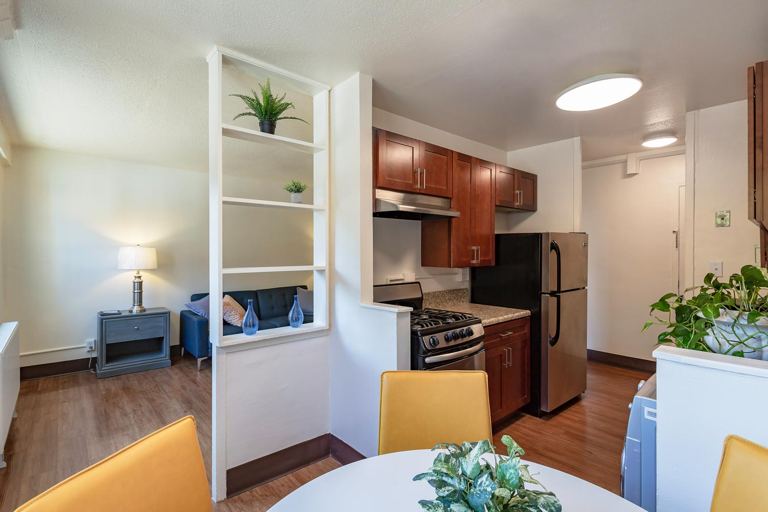 Ocean Bay-Bayside Apartments received new kitchens, bathrooms, doors and interior finishes