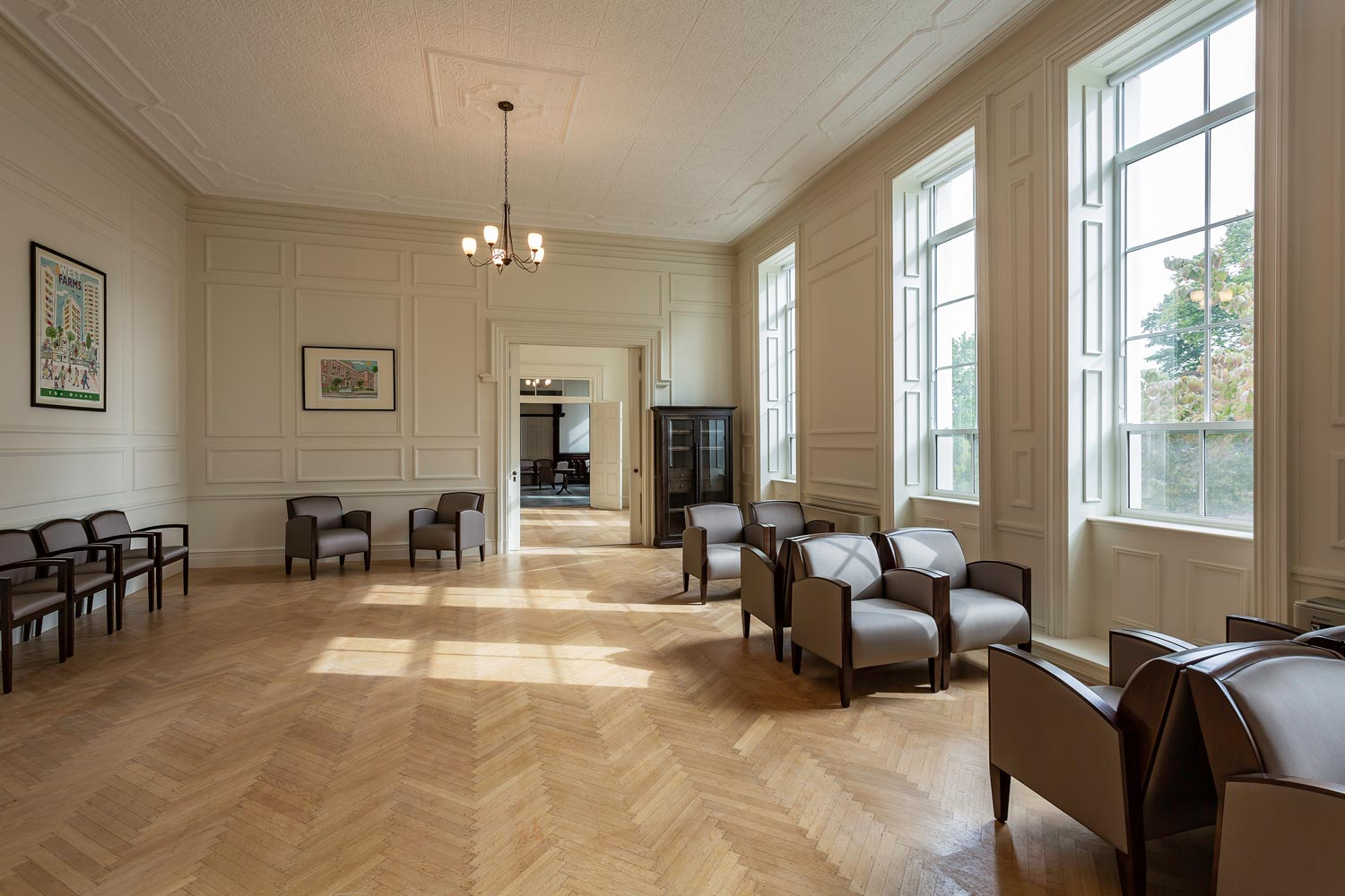 The old world charm of the converted convent at Serviam Height Senior Apartments
