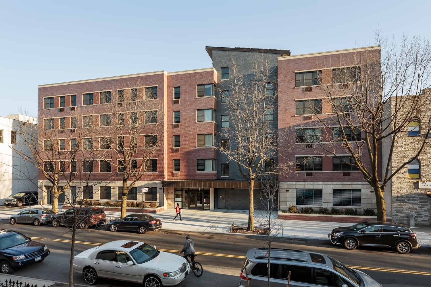 Supportive housing new construction by OCV Architects