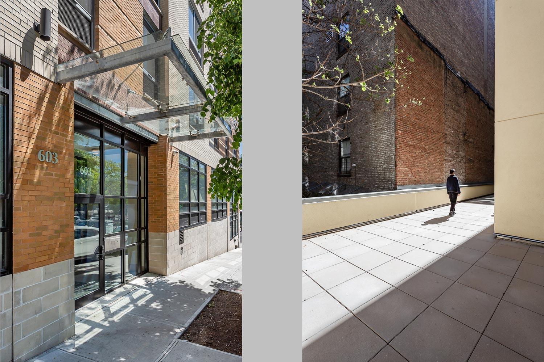The Pontiac Residential Entry & Rear Yard